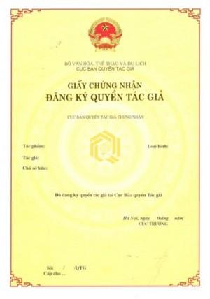 Thủ tục đăng ký quyền tác giả tại Hà Tĩnh