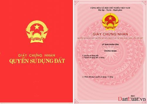 Thủ tục cấp đổi giấy chứng nhận quyền sử dụng đất tại Hà Tĩnh