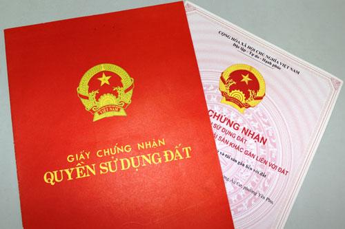 Thủ tục cấp lại giấy chứng nhận quyền sử dụng đất tại Hà Tĩnh
