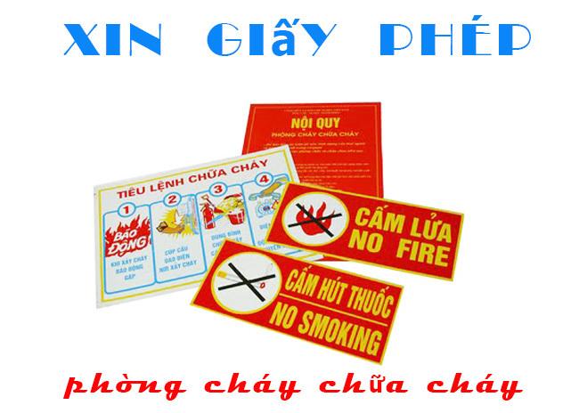 Thủ tục xin giấy phép phòng cháy chữa cháy tại Hà Tĩnh