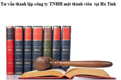Đặc điểm công ty TNHH một thành viên tại Hà Tĩnh