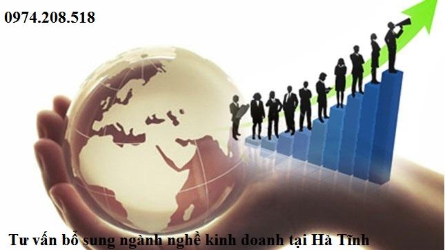 Tư vấn bổ sung ngành nghề kinh doanh tại Hà Tĩnh