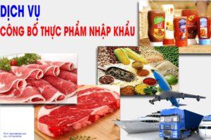 Dịch vụ Công bố thực phẩm nhập khẩu tại Hà Tĩnh