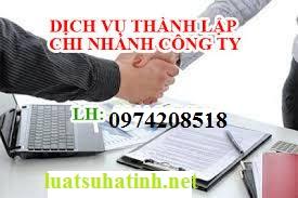 Dịch vụ thành lập Chi nhánh Công ty tại Hà Tĩnh