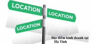 Địa điểm kinh doanh tại Hà Tĩnh