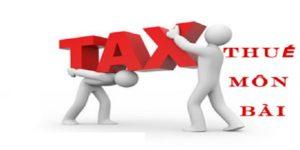 Chi nhánh công ty tại Hà Tĩnh có phải nộp thuế môn bài không?