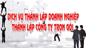 Thành lập công ty TNHH 1 thành viên tại Hà Tĩnh