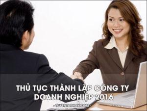 Thành lập doanh nghiệp hai thành viên tại Hà Tĩnh