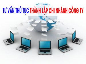 Mẫu quyết định thành lập chi nhánh công ty tại Hà Tĩnh