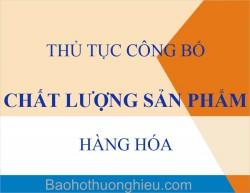 Thủ tục công bố bao bì sản phẩm tại Hà Tĩnh