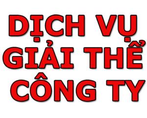 Giải thể công ty cổ phần tại Hà Tĩnh