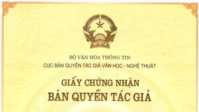 Hồ sơ đăng ký quyền tác giả tại Hà Tĩnh