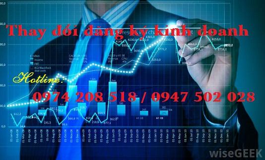 Dịch vụ thay đổi đăng ký kinh doanh nhanh tại Hà Tĩnh