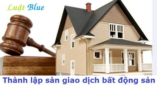 Thành lập sàn giao dịch bất động sản tại Hà Tĩnh