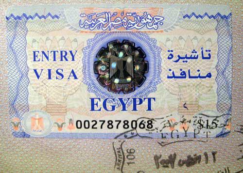 Làm Visa đi Ai Cập