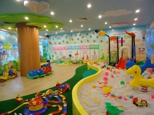 Thành lập khu vui chơi giải trí cho trẻ em trong nhà