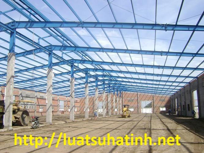 Thủ tục xin phép xây dựng nhà xưởng tại Hà Tĩnh
