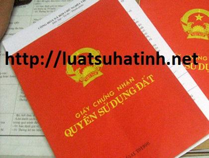 Thủ tục làm sổ đỏ cho mảnh đất mua qua giấy viết tay tại Hà Tĩnh