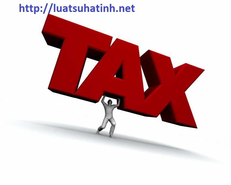 Thủ tục thay đổi người đại diện theo pháp luật với cơ quan thuế