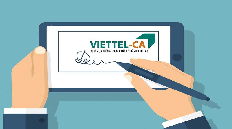 Chứng thư chữ ký số Viettel
